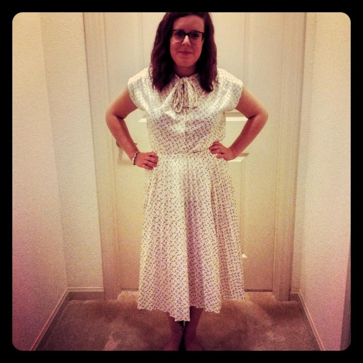 edited vintage dress