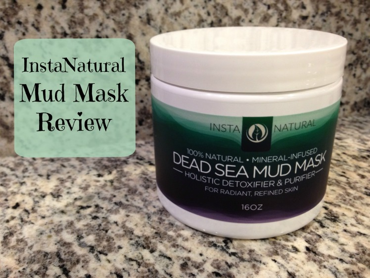 mud mask review with text