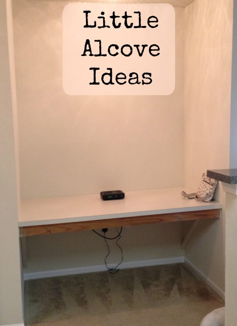 alcove with text
